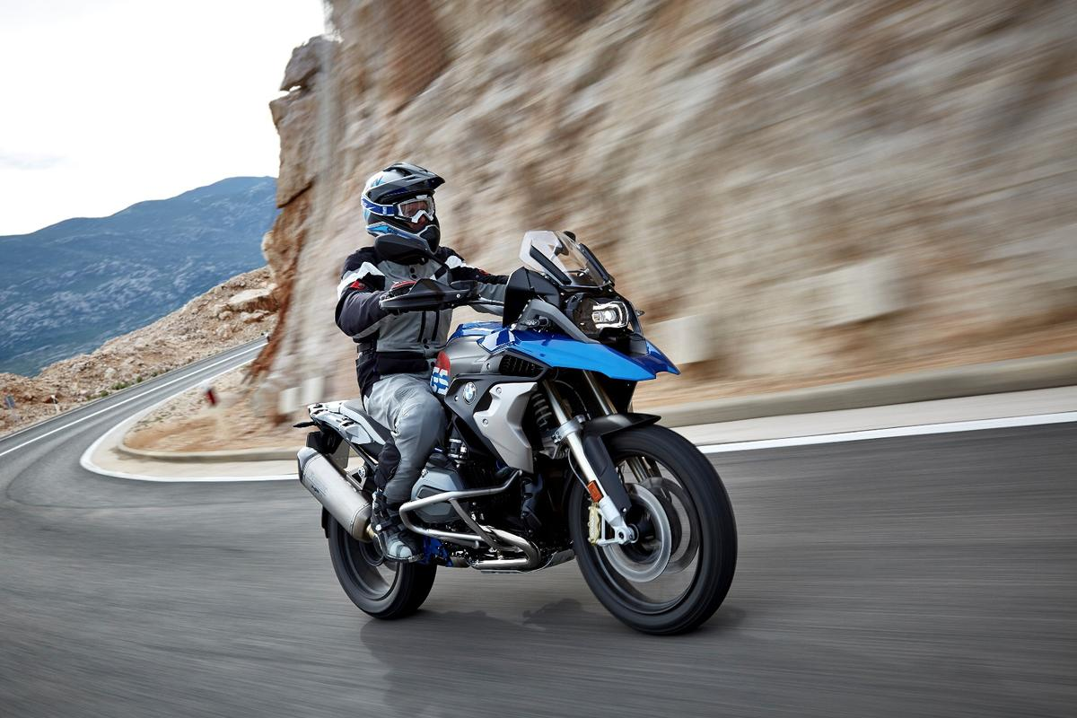 The R1200 GS has been given a slight styling revision, but it's still instantly recognisable