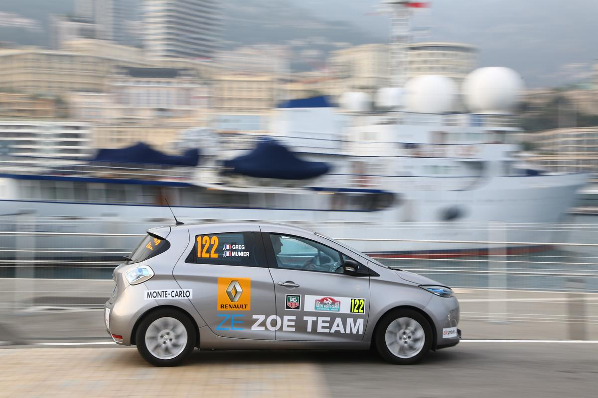 "The Rallye Monte-Carlo ZENN, short for Zero Emission, No Noise is the ""greenest"" portion of the New Energies Rally"