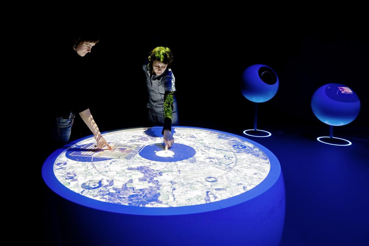 """CERN's new exhibition, the """"Universe of Particles"""" will introduce the intriguing world of particles via interactive and visual effects"""