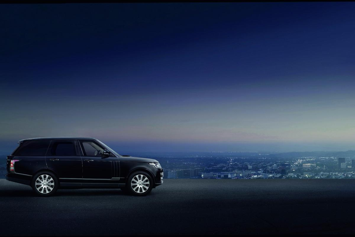 Range Rover's first armored vehicle, the Sentinel, is based on a standard wheelbase Range Rover Autobiography