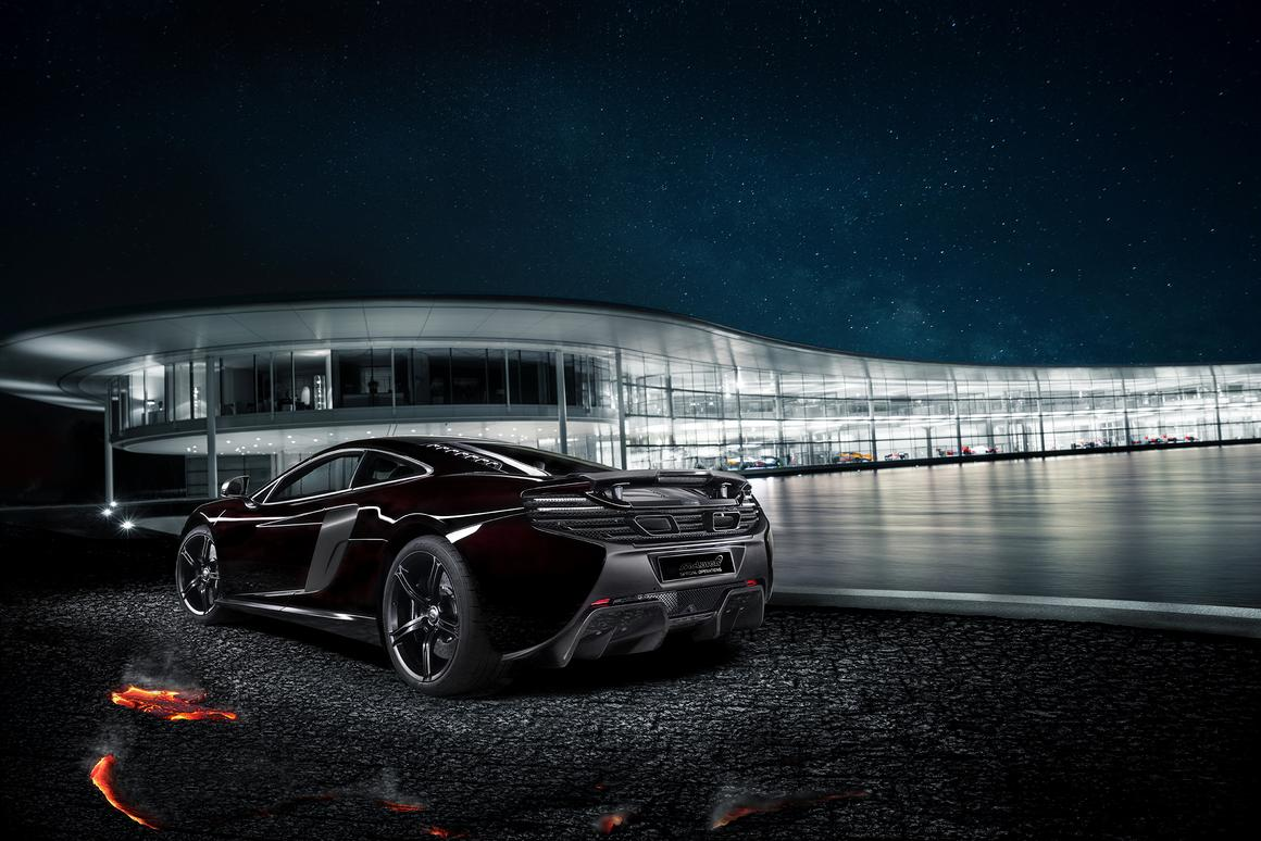 """McLaren points out that the MSO 650S Concept is currently being presented as a """"one-off design study"""" as its being showcased around China over the next few weeks"""