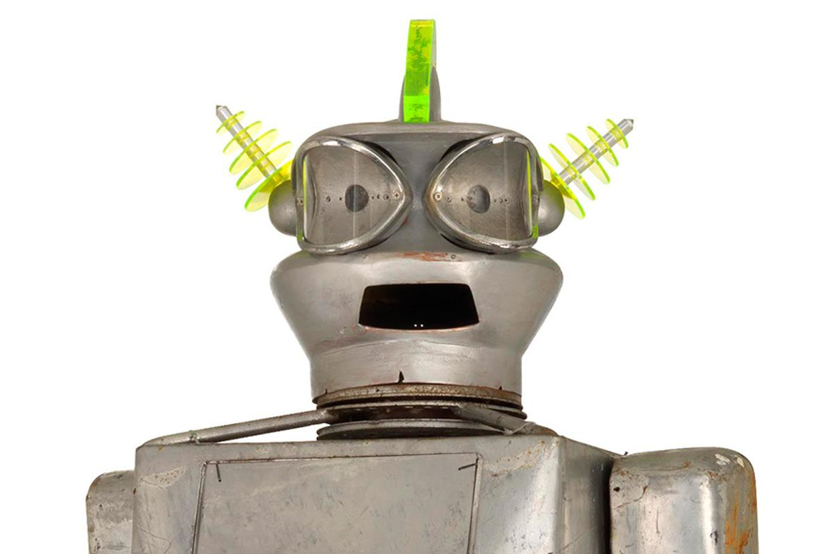 Cygan, the vintage robot that goes under the hammer in September (Photo: Christie's Images)