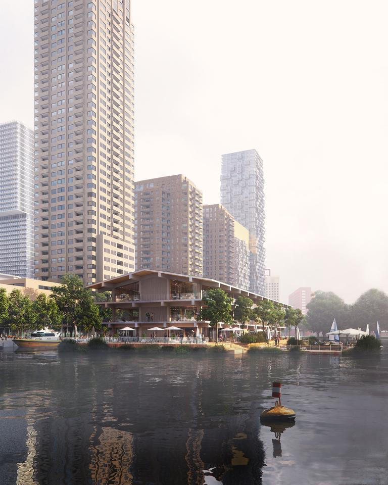 Floating Office Rotterdam is due to begin construction in the first quarter of 2020