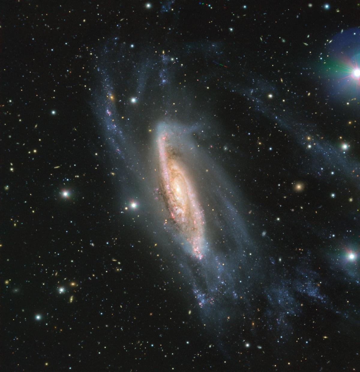 NGC 3981 imaged by the FORS2 instrument mounted on the ESO's Very Large Telescope