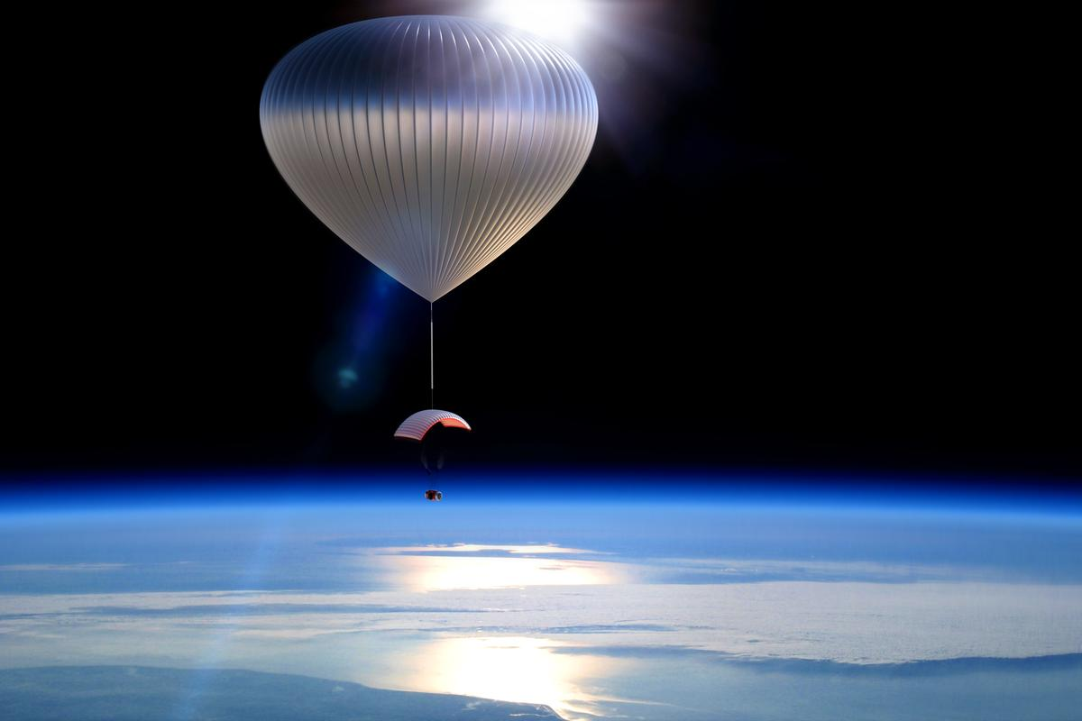An Arizona-based company is planning to offer commercial subspace balloon flights by 2016 (Image: World View Enterprises)