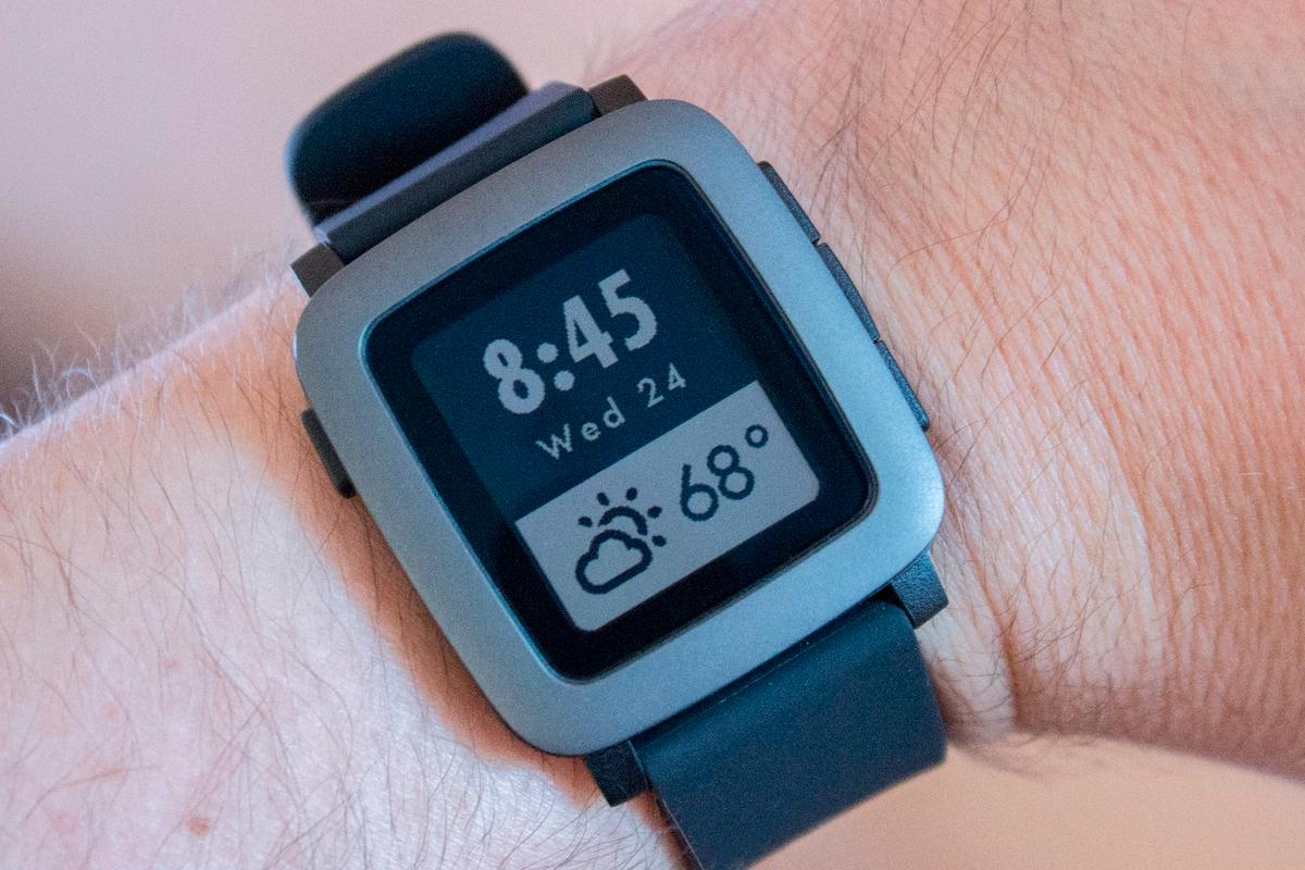Gizmag reviews Kickstarter's favorite watch, Pebble Time