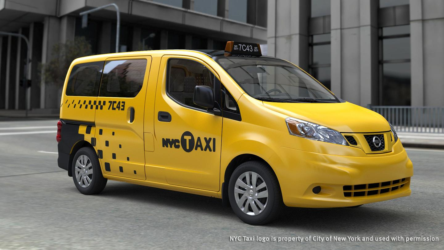 The Nissan NV200 which won the tender for the Taxi of Tomorrow