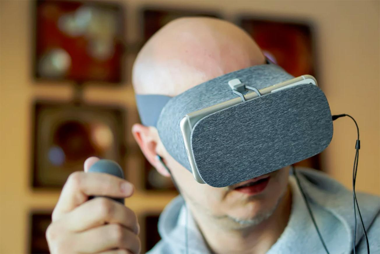 Google Daydream in action