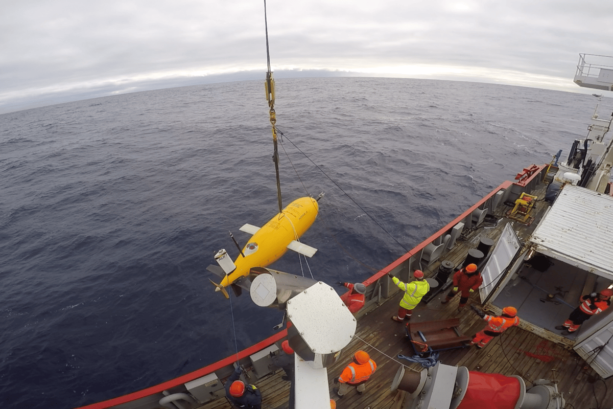 Long-range autosub Boaty McBoatface has successfully completed its first mission