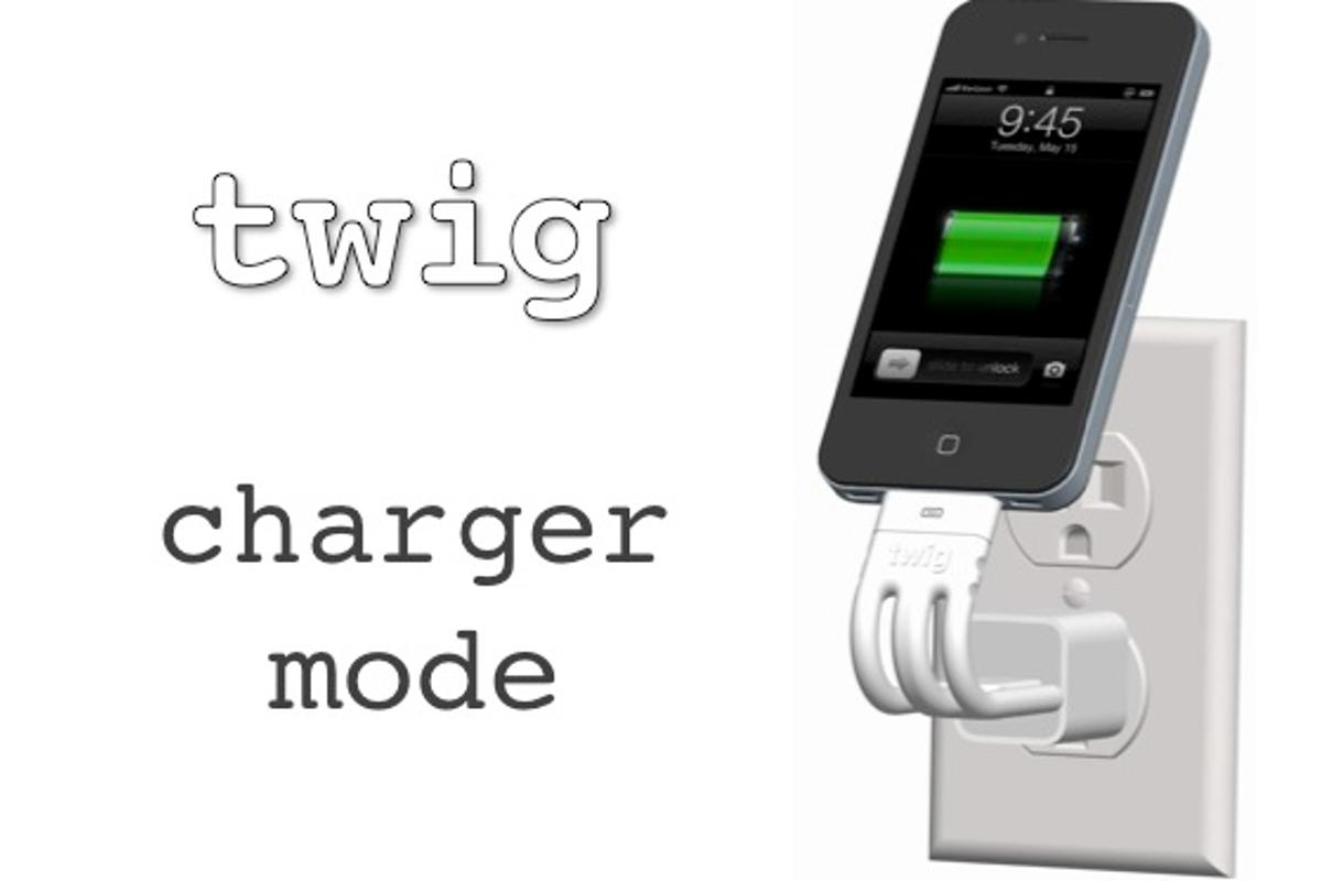 The versatile Twig iPhone cable is set for release after a successful Kickstarter campaign