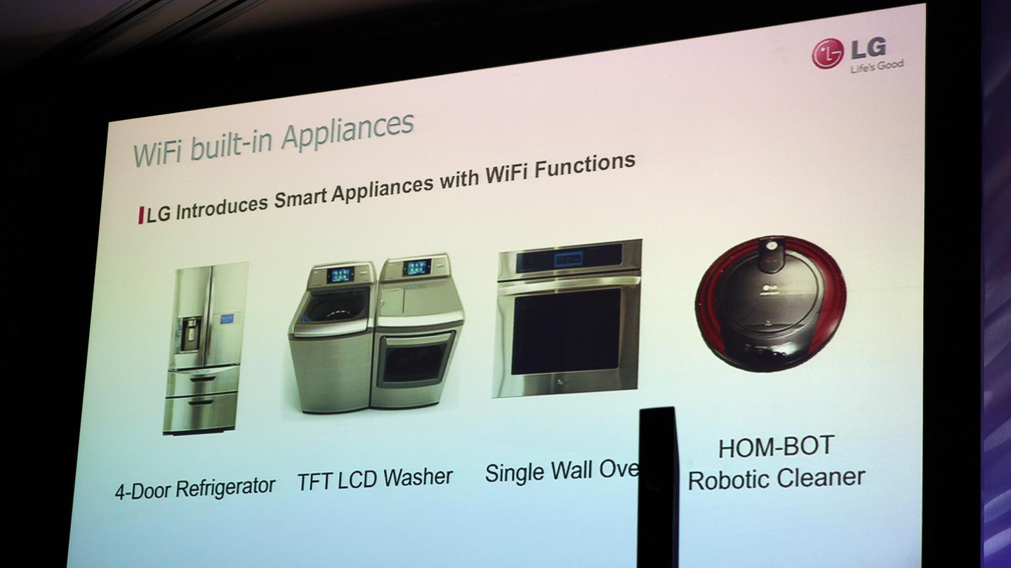 LG THINQ home appliance technology