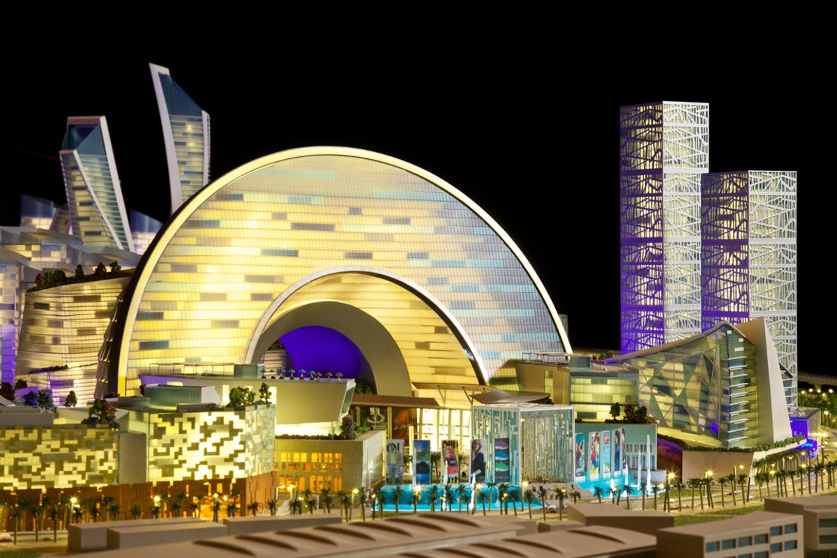 The Mall of the World, by property development group Dubai Holding (Image: Dubai Holding)