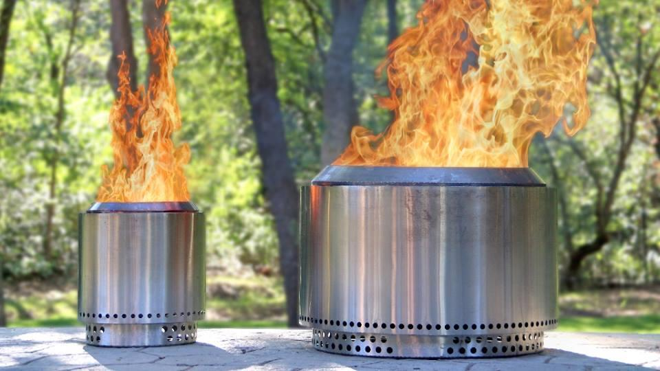 Alongside the Yukon, Solo Stove also offers a smaller fire pit called the Ranger, seen on the left