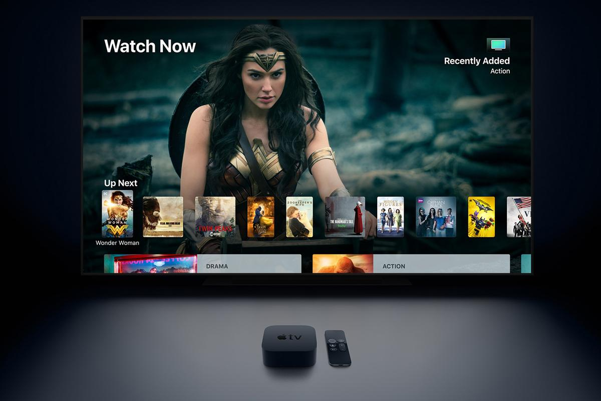 With the Apple TV 4K, Apple's neweststreaming box improves visual quality with4K resolution and High Dynamic Range