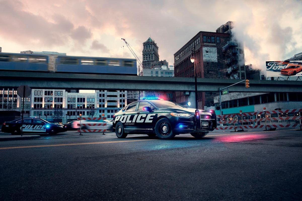 The new Ford Police Responder Hybrid