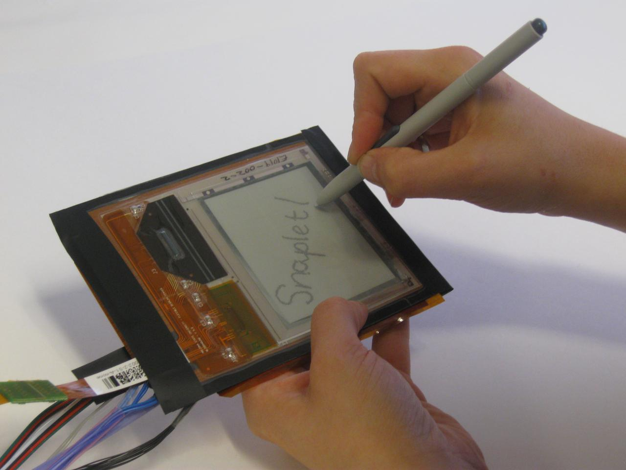 The Snaplet's Wacom tablet function