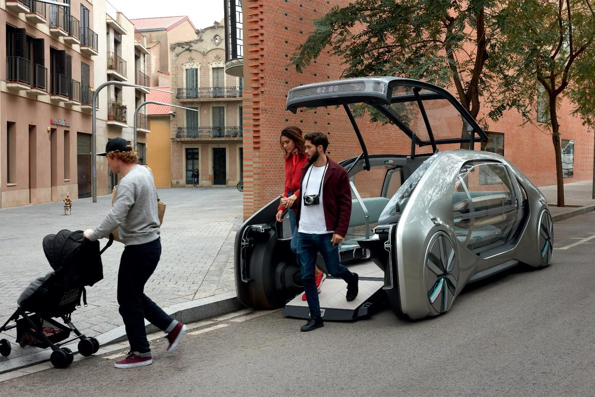 The EZ-GO robo-car – coming sorta soon to a street near you?
