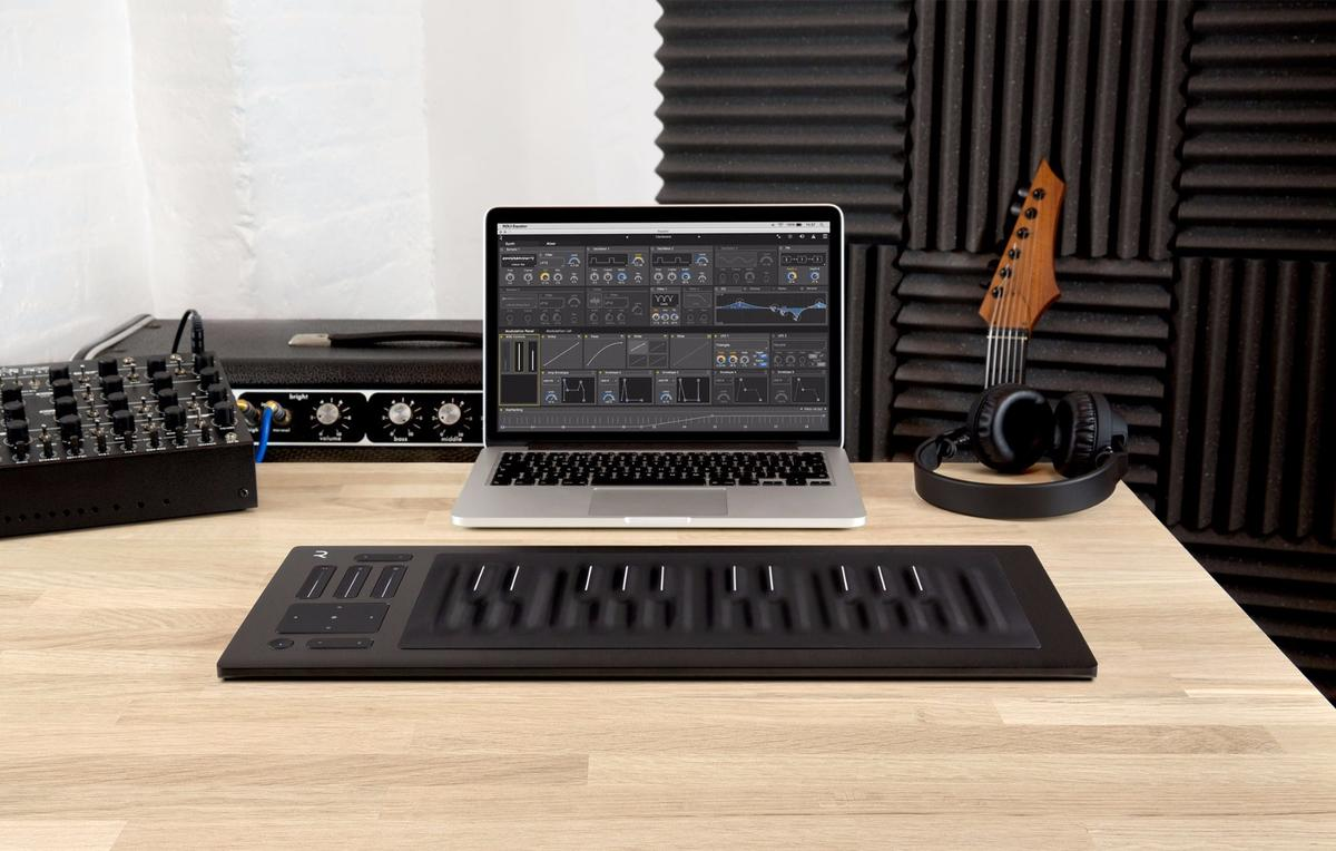 The Seaboard Rise will come with Roli's software synth Equator, designed to support the five expressive playing dimensions of the instrument