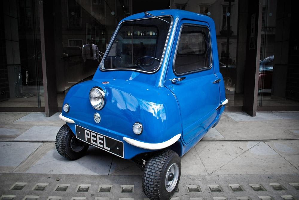 The Peel P50 measures just 54 inches (223 cm) long