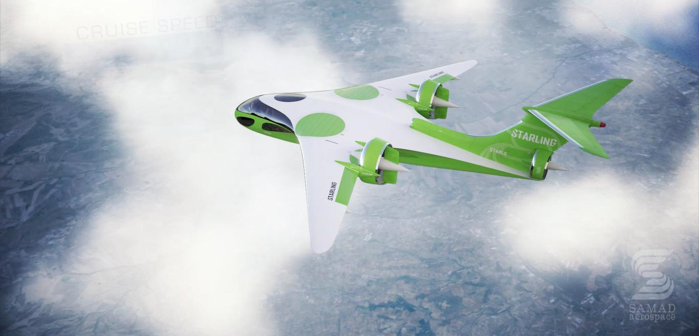 The E-Starling is a more typical eVTOL running an all-electric powertrain – it claims a huge 400-mile range, though, and Samad doesn't explain how it plans to fly so much further than its battery-powered competition