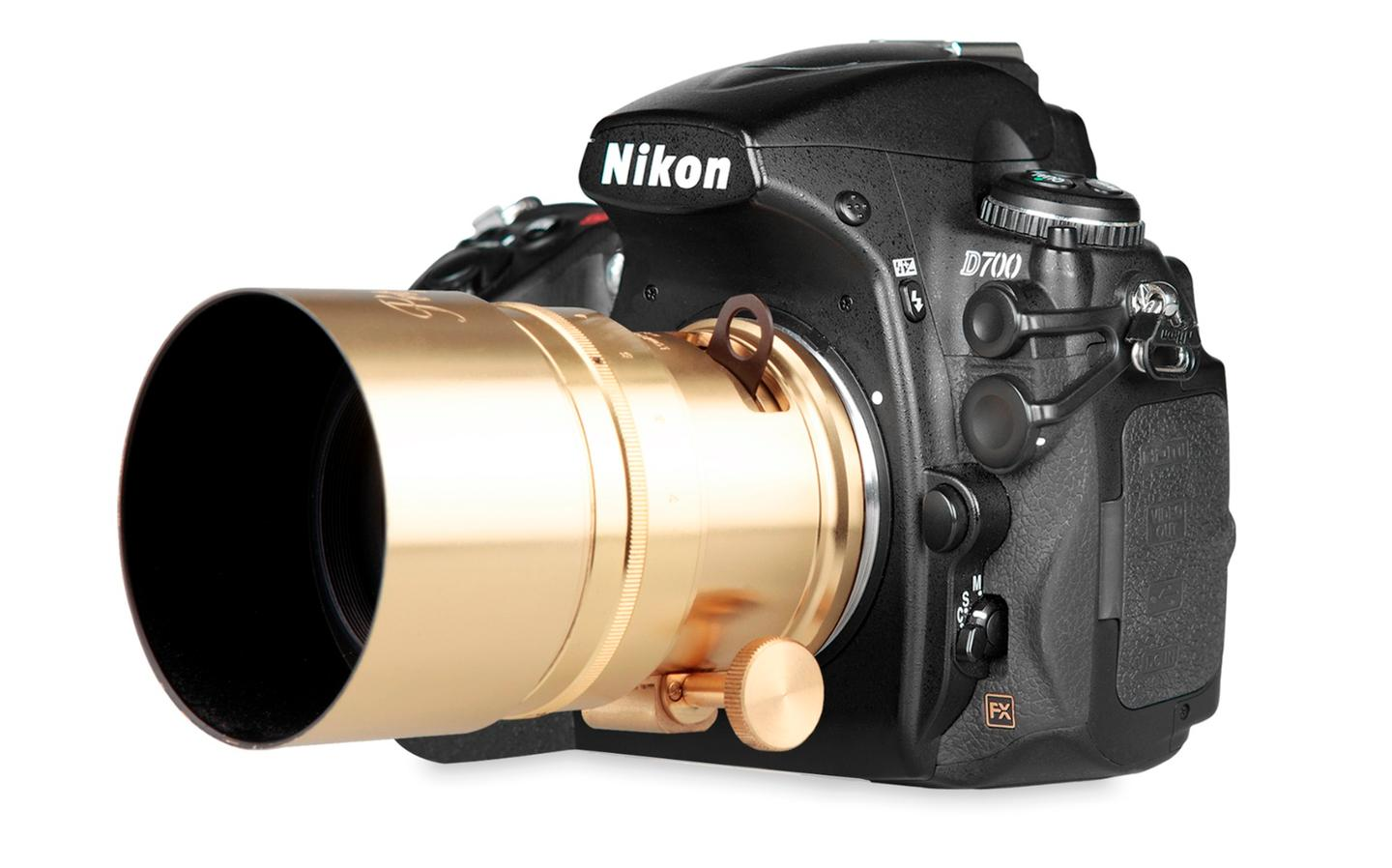 The Lomography New Petzval 58 Bokeh Control Art Lens will be available with a Nikon F mount
