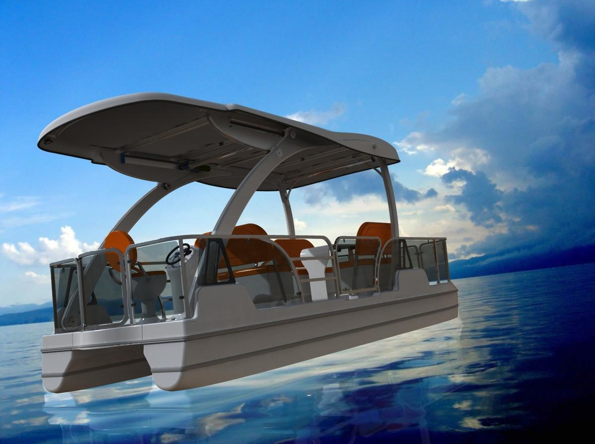 Tamarack Lake Electric Boats is set to begin full-scale production of its Loon solar-electric boat