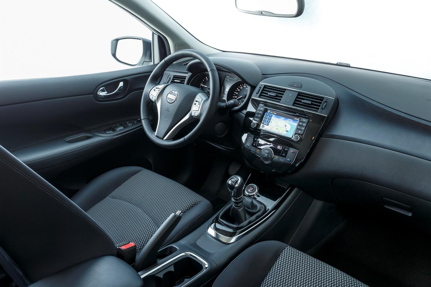 Nissan claims the Pulsar's interior is more spacious than that of its competitors