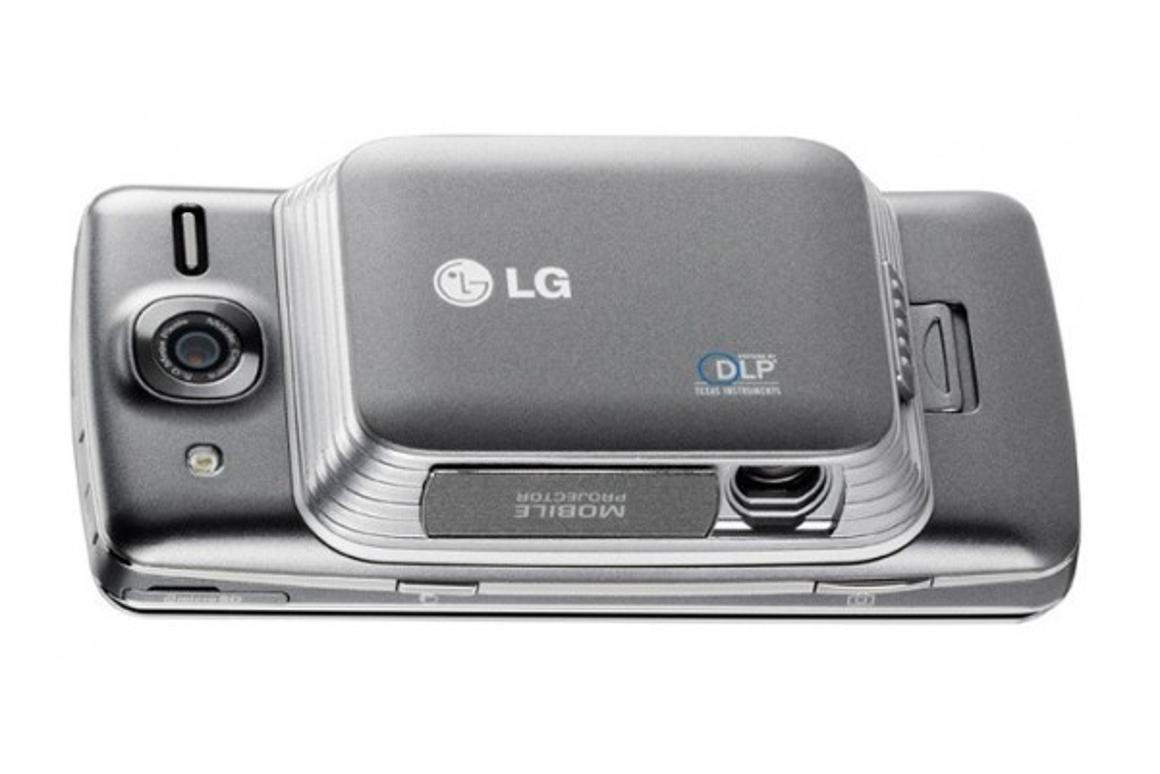 The LG eXpo is the first device in North America with an optical integrated pico projector