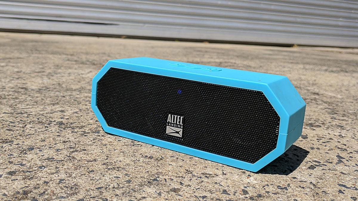 Altec Lansing Jacket H2O:a thoroughly roadworthy, floating, waterproof Bluetooth speaker that sounds great to us