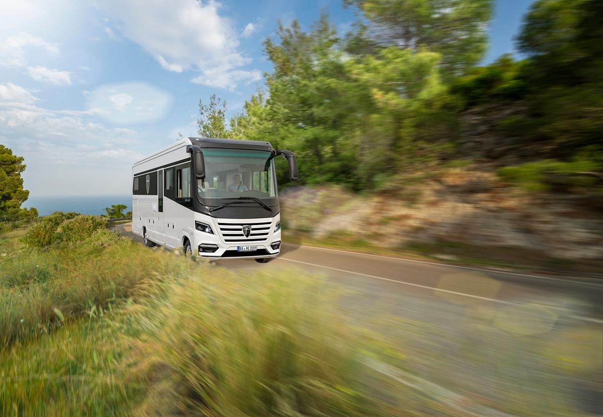 Morelo will be presenting an updated Palace motorhome at this year's Dusseldorf Caravan Salon