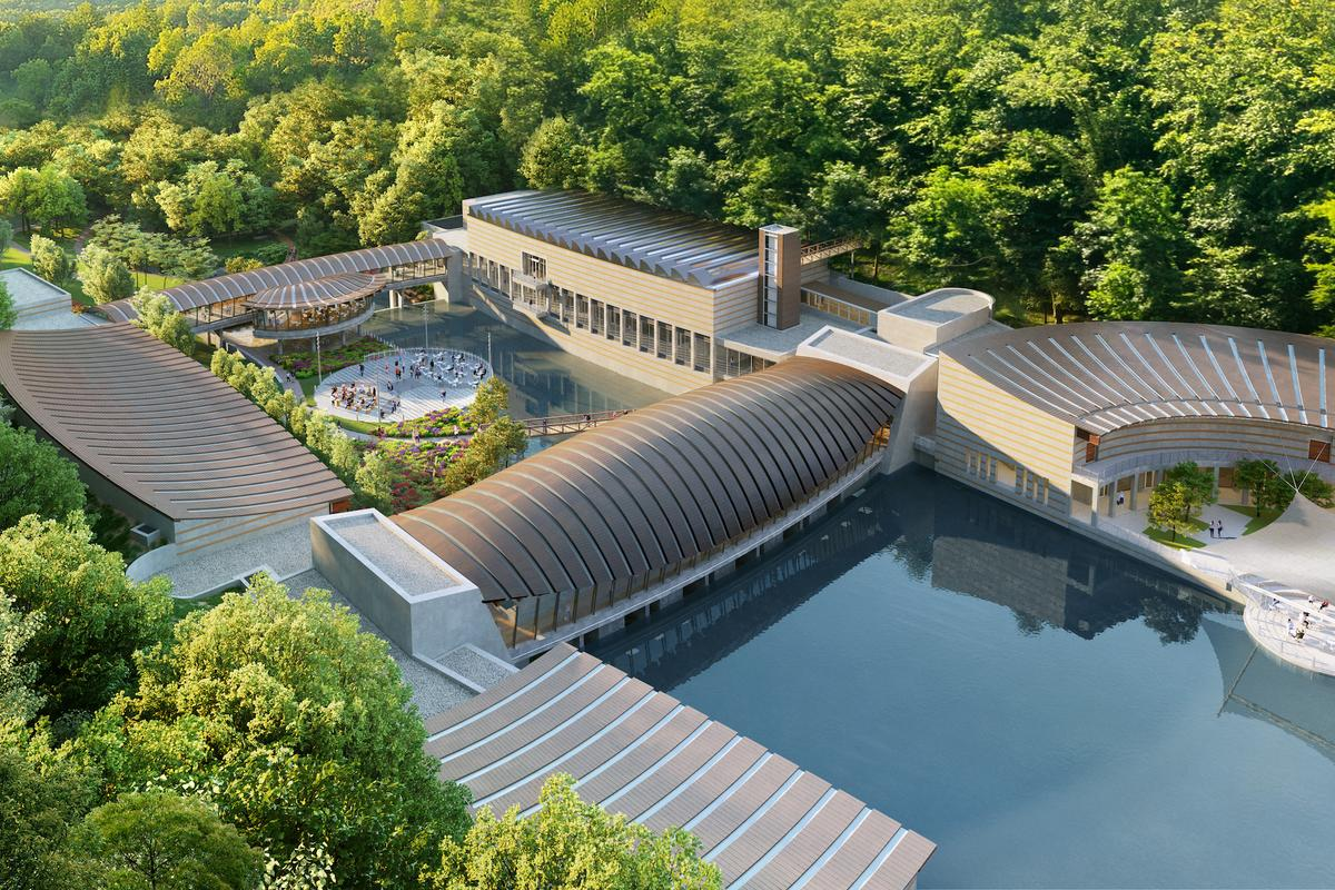 The Crystal Bridges Museum of American Art expansion is expected to be completed by 2024
