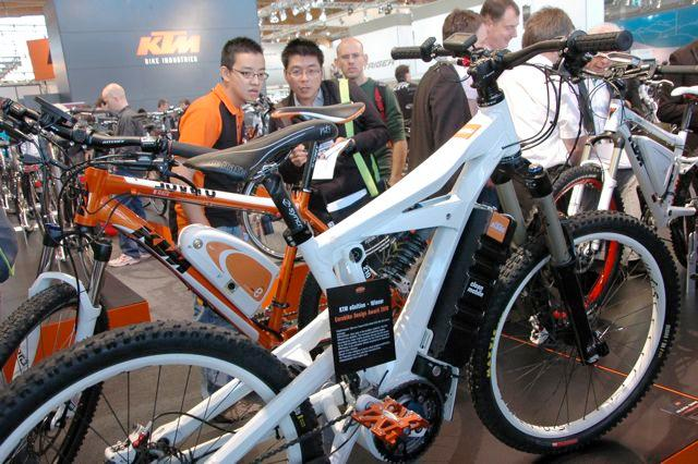 The KTM eGnition on display at Eurobike 2010