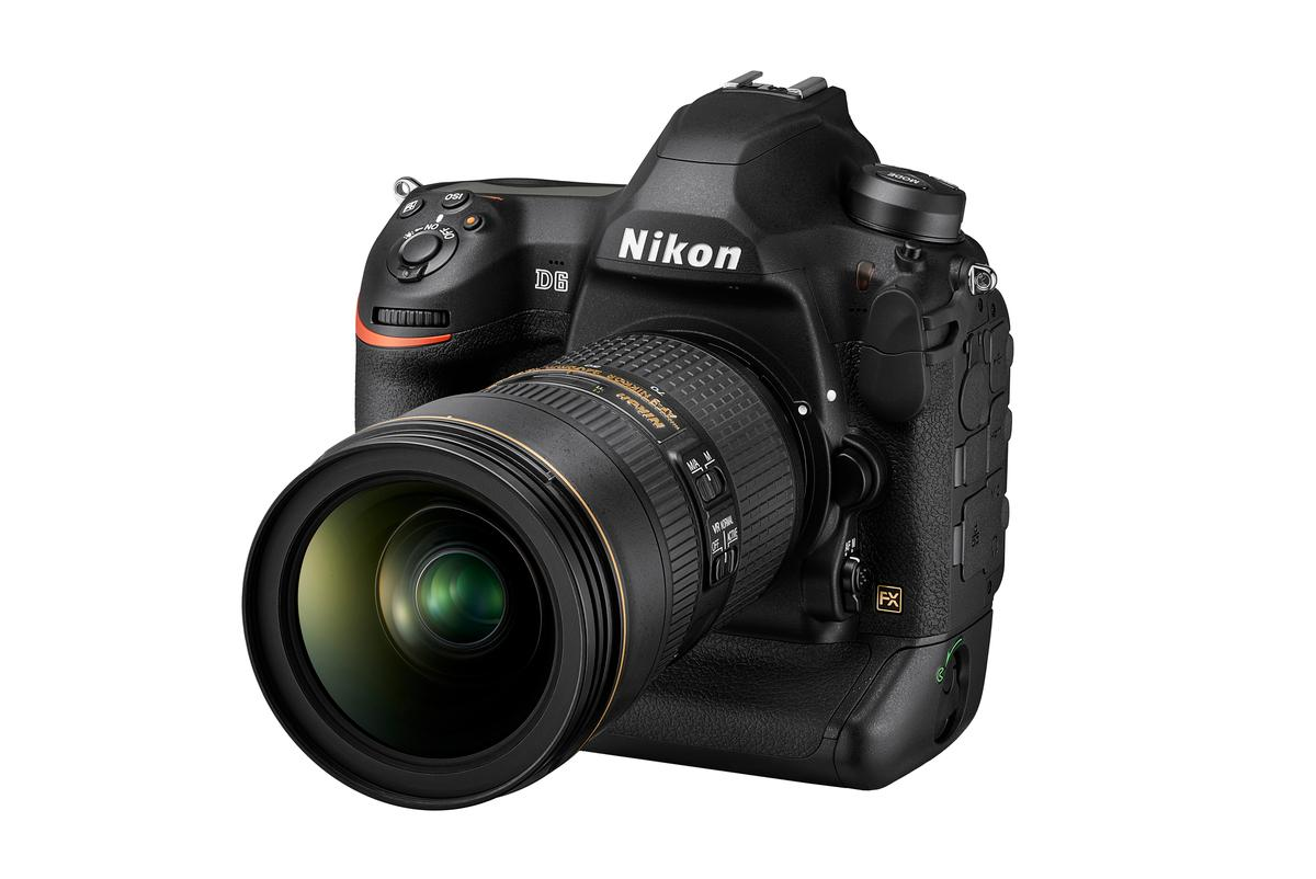 The Nikon D6 flagship DSLR is due for release in April 2020