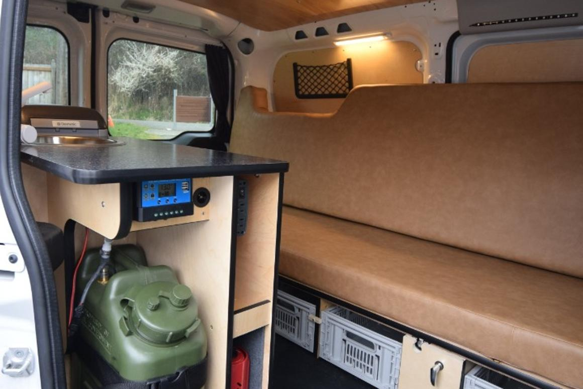 Cascade Campers kit creates a stealth, two-person mini