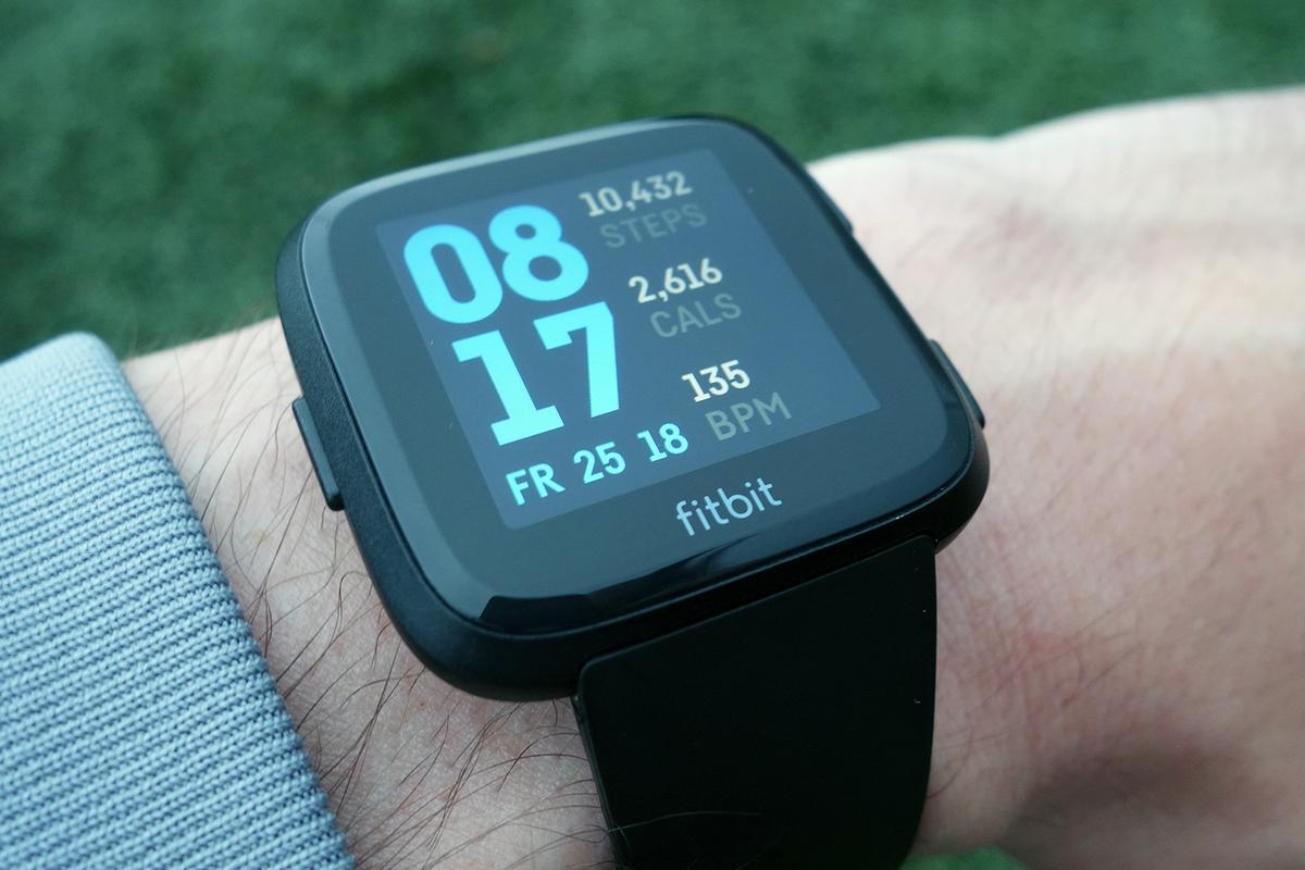The Fitbit Versa smartwatch manages to feel as light as some fitness trackers