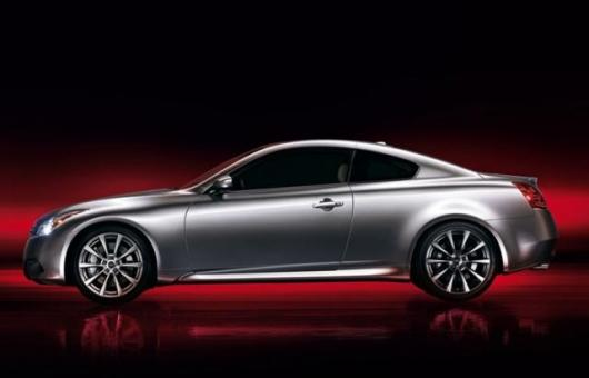 The new Infiniti G37 coupe