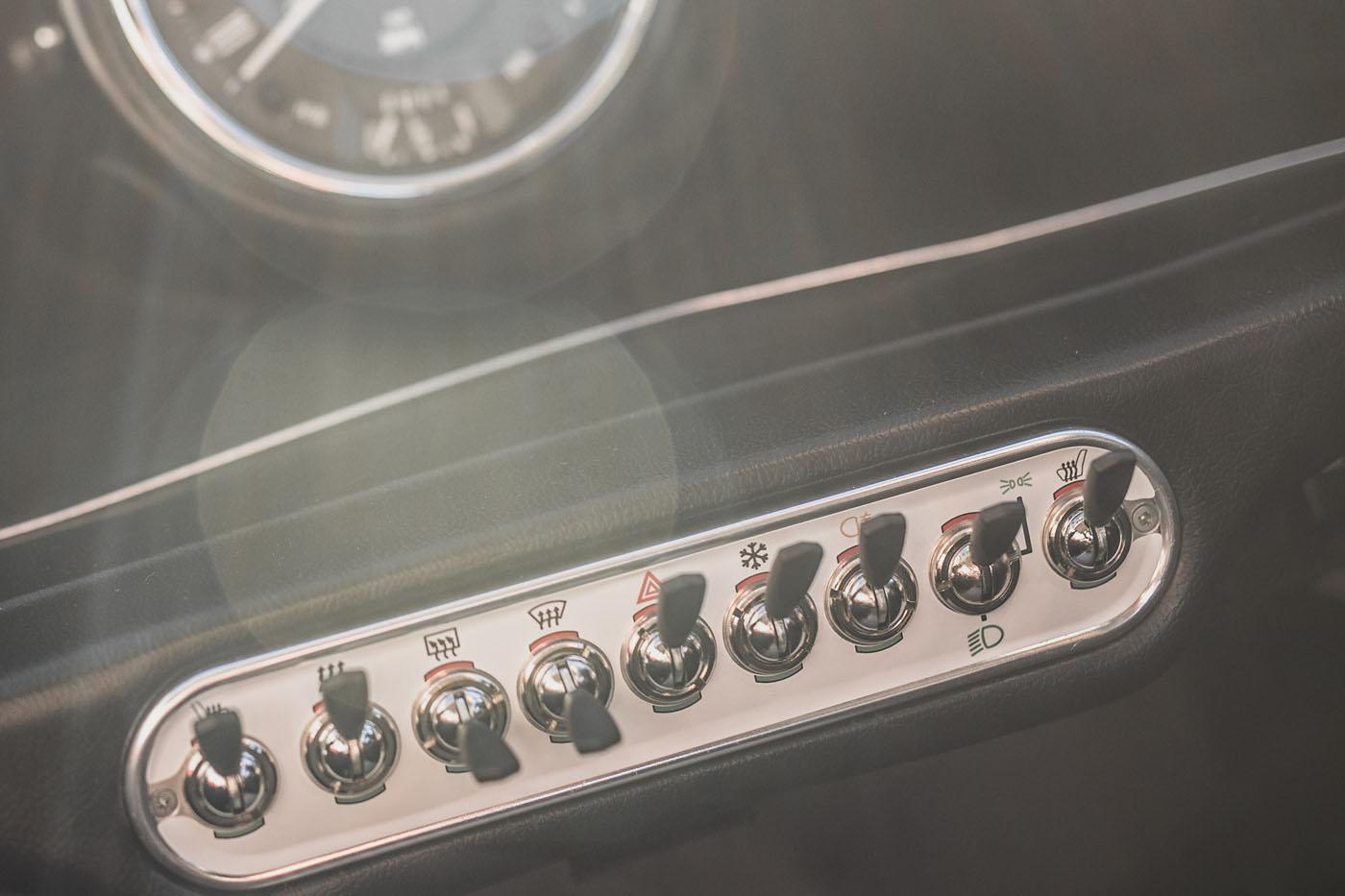 TheSwind E Classic Mini will sport retro-cool switches on the dash