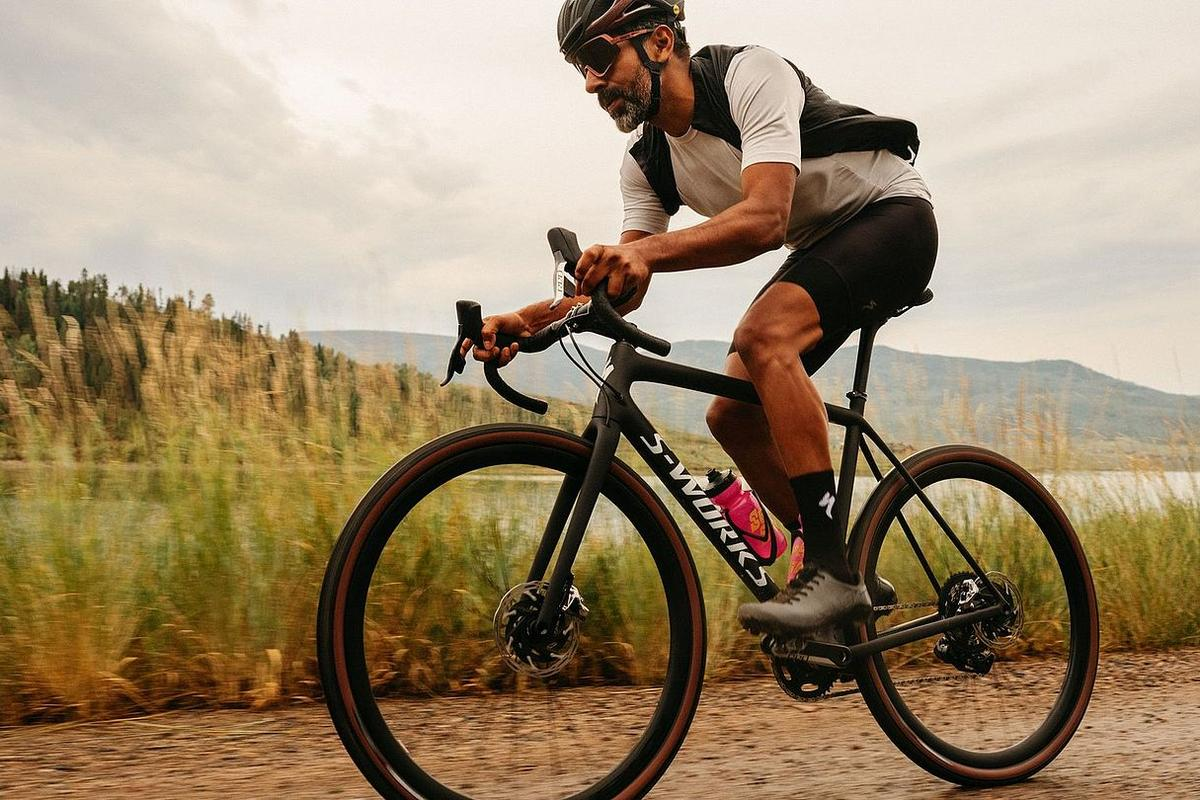 The S-Works Crux in action