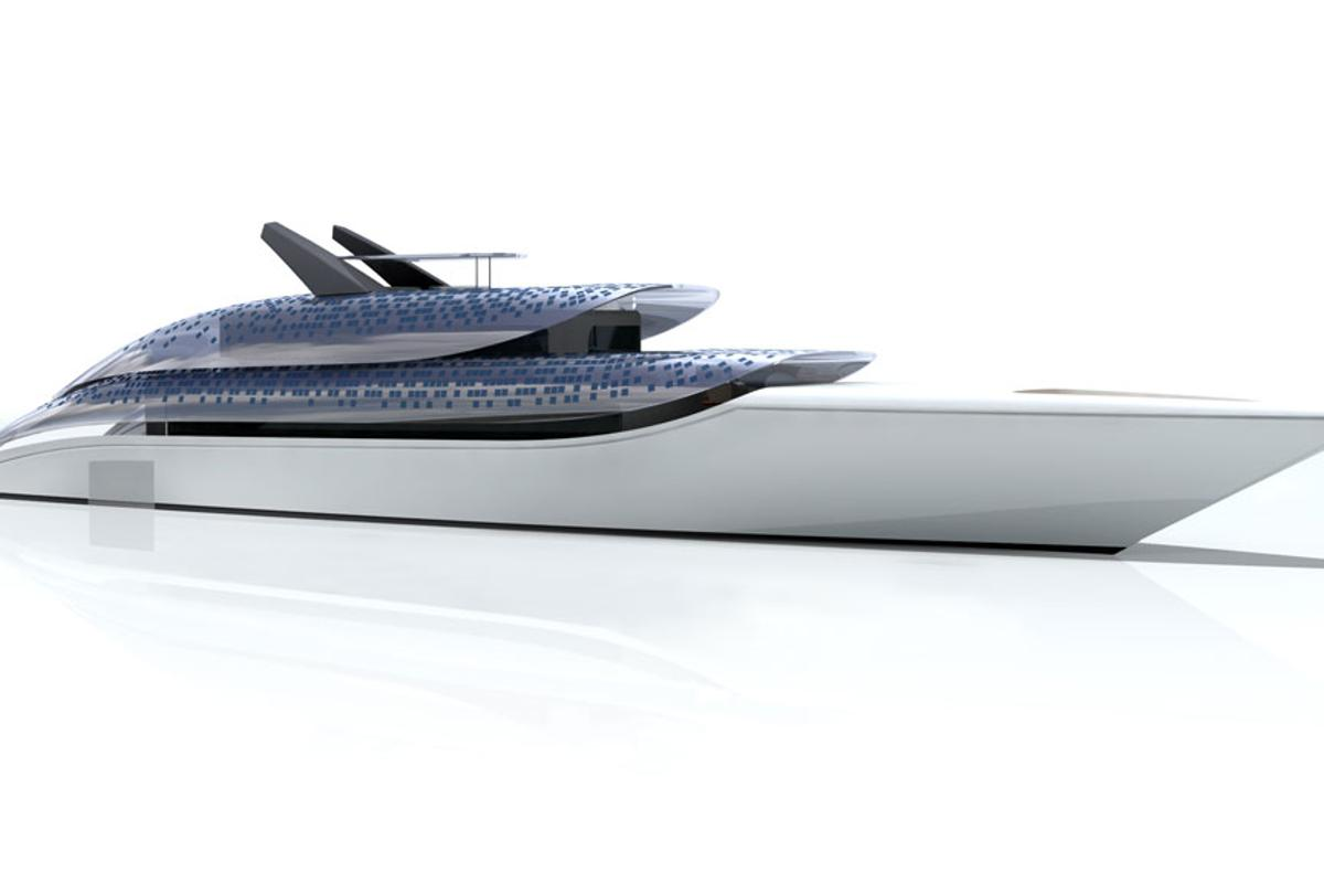 Feadship's concept Breate yacht