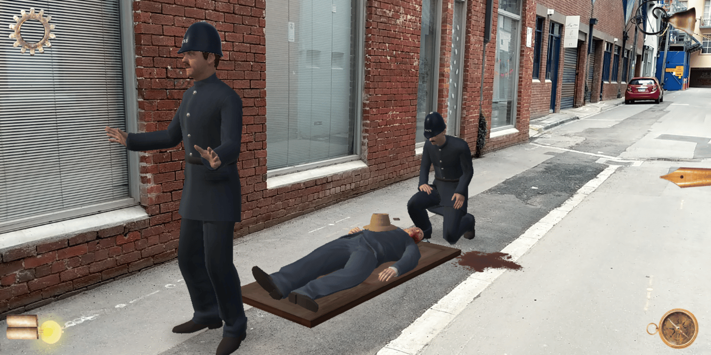 Misadventure in Little Lon is an augmented reality true crime game