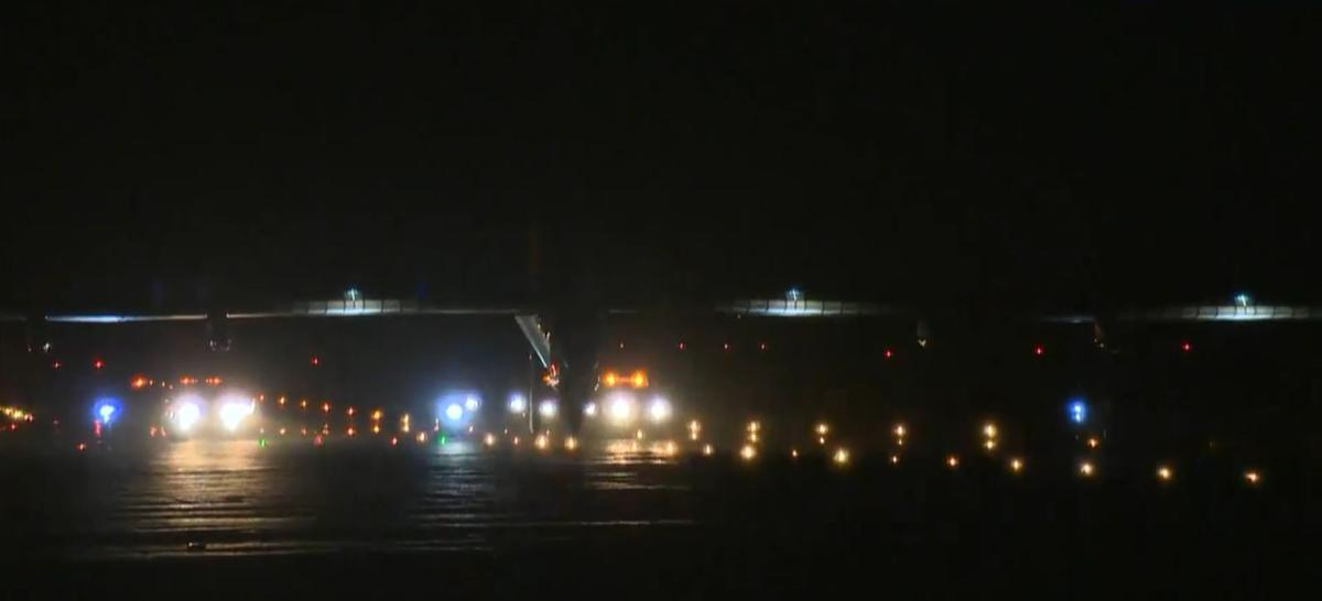 Solar Impulse 2 takes off from Seville, Spain