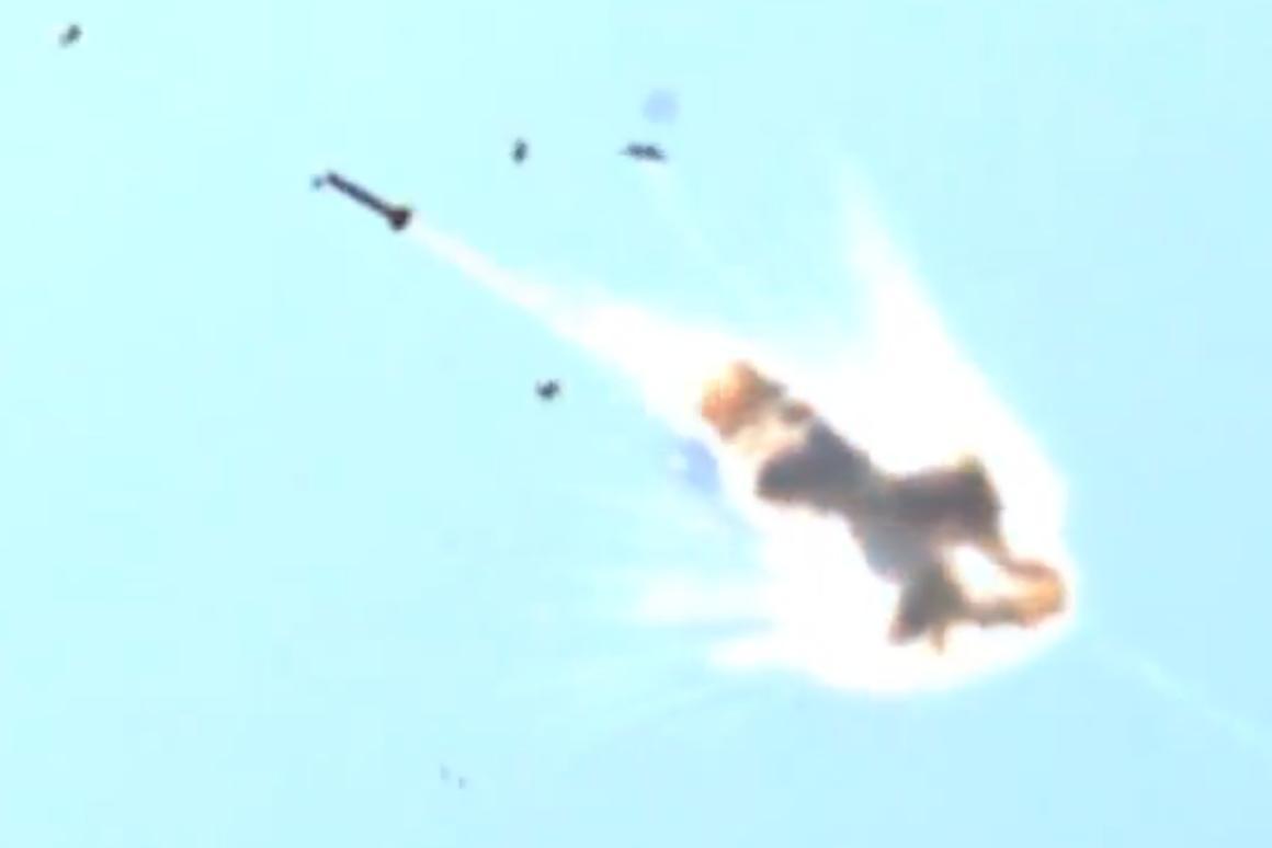 Lockheed Martin's ADAM laser system destroys a rocket mid-flight