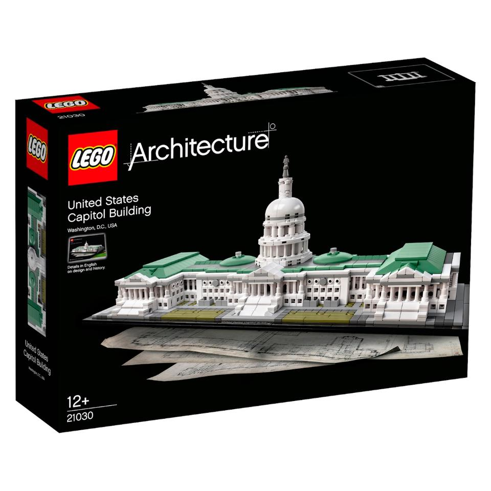 The U.S. Capitol will allow you to recreate the seat of the United States Congress, brick-by-brick