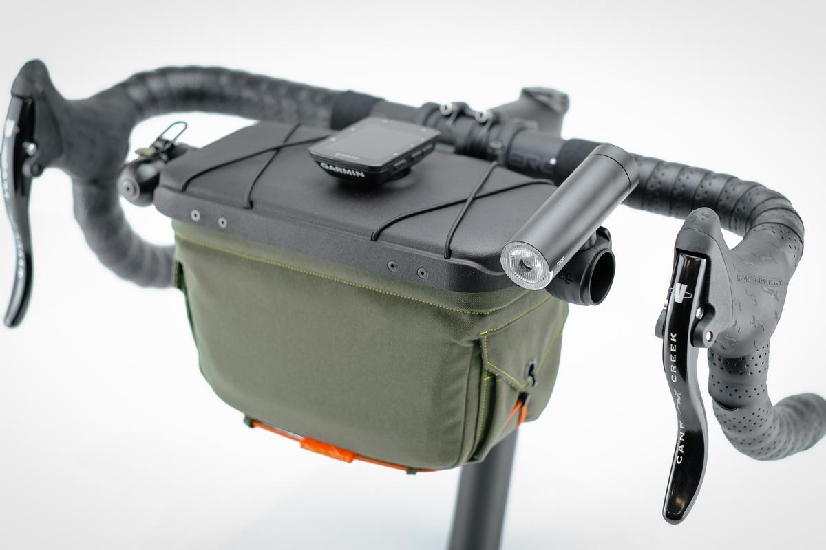 The Handlebar Bag is currently on Kickstarter