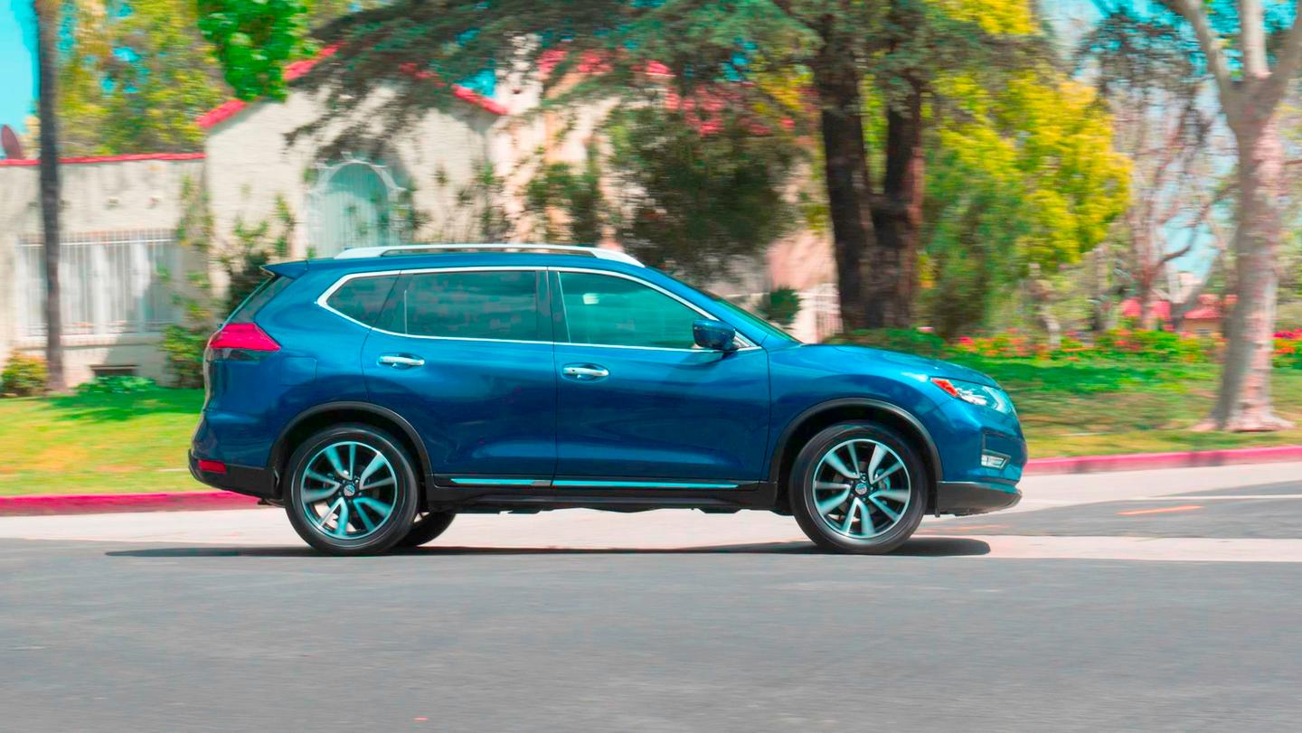 """The 2017 Nissan Rogue, which became the platform for the """"Rogue Dogue"""""""