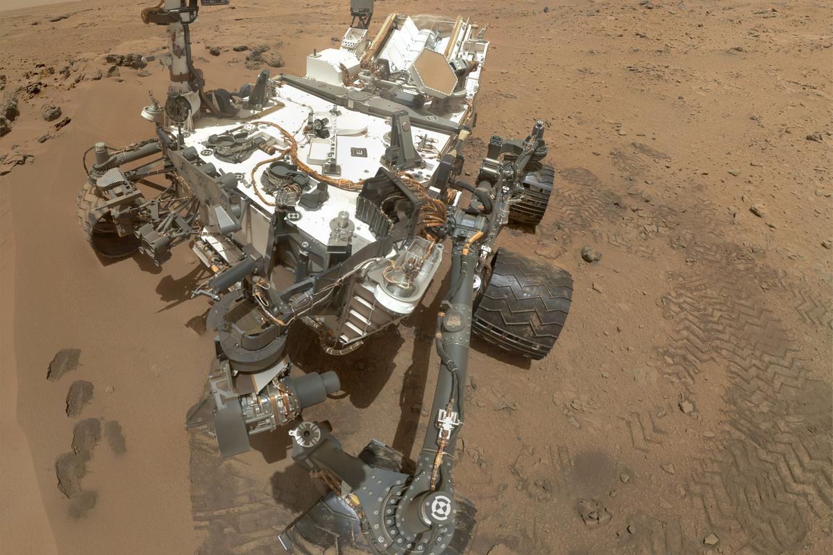 High-Resolution Self-Portrait by Curiosity Rover Arm Camera used by NASA engineers to document the rover's condition (Image: NASA/JPL-Caltech/Malin Space Science Systems)