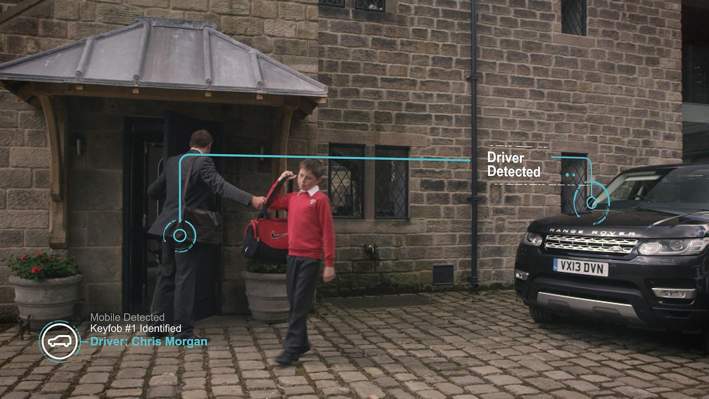 Smart Assistant technology gets the car ready when it detects the driver