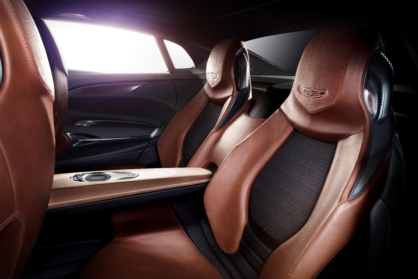 Genesis New York Concept: Ftted with four individual bucket seats