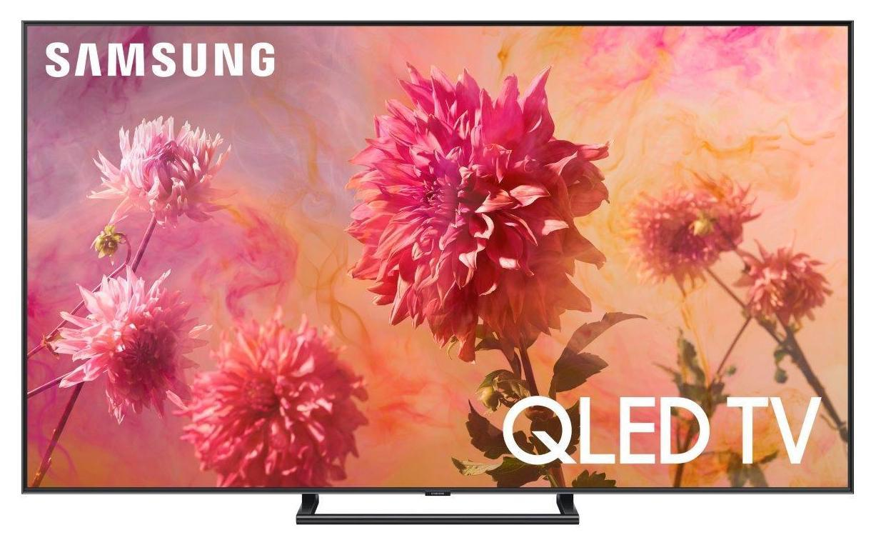 Samsung's QLED TVs display in 4K resolution and are compatible with HDR10+