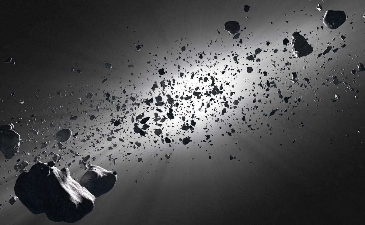 Scientists have discovered the seeds of a comet inside a meteorite from an asteroid
